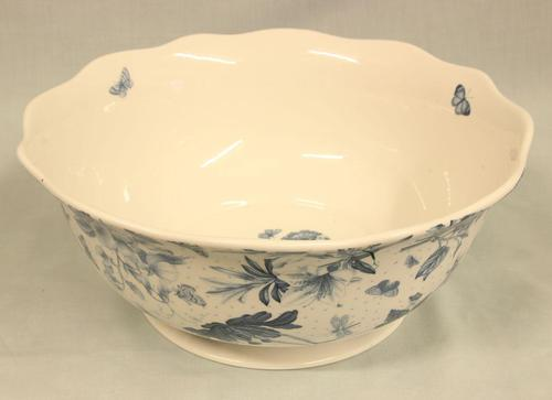 Antique Style Blue & White Bowl (1 of 5)