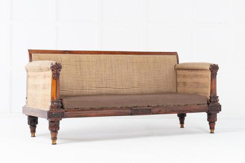 19th Century Regency Rosewood Sofa (1 of 7)