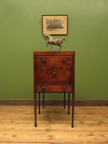 Antique 19th Century Gentleman's Washstand Cabinet, Bedside Cabinet (1 of 17)