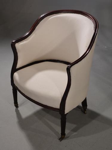 A Good George III Period Tub Chair (1 of 4)