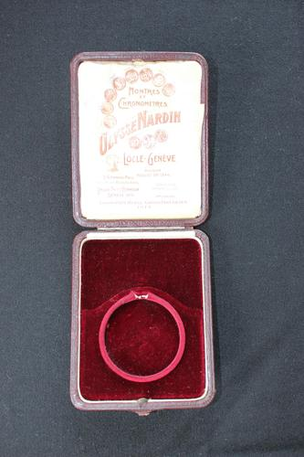 Early 20th Century Ulysse Nardin Leather Pocket Watch Box (1 of 7)
