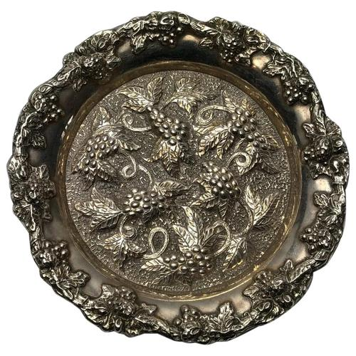 Early 20th Century Sheffield E.H.Parkin & Co Silver Plate Wine Coaster (1 of 9)