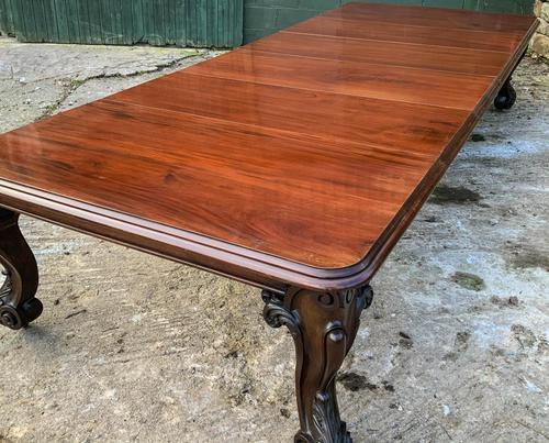 Very Large Victorian Extending Dining Table in Mahogany (1 of 17)