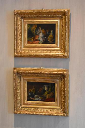 Pair of Still-life Oil Paintings by A Bonnefoy (1 of 13)