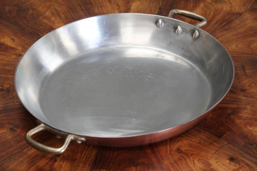 19th Century French Copper Prospector Pan (1 of 5)