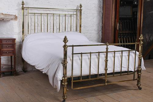 Fabulous Quality Victorian King Size all brass bed (1 of 9)