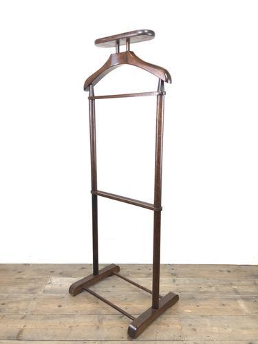 Vintage Mahogany Gentleman's Valet Stand (1 of 10)