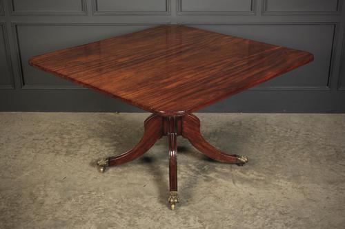 Solid Cuban Mahogany Tilt Top Dining Table (1 of 14)