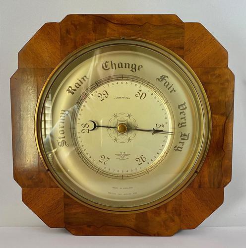 Art Deco Aneroid Barometer.  1930's (1 of 6)