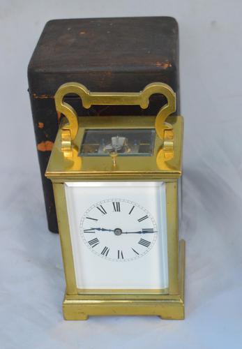 Richard & Co Paris Strike / Repeat Carriage Clock + Box (1 of 5)