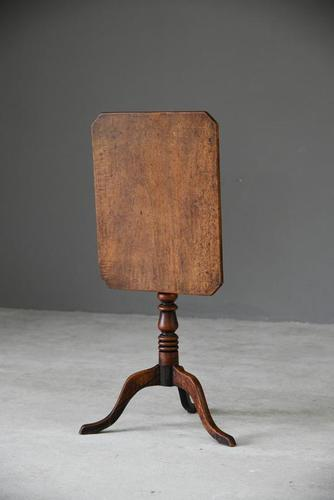 Antique Mahogany Side Table (1 of 12)