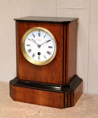 Walnut Timepiece Mantel Clock (1 of 14)