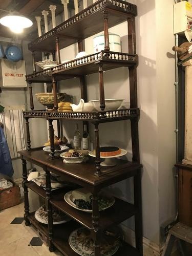 Antique French Patisserie Shelves (1 of 10)