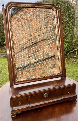 18th Century Cuban Mahogany Dressing Table Mirror (1 of 7)