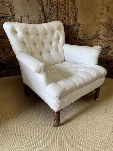 Large Victorian Country House Armchair (1 of 5)