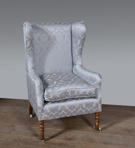 Antique Wing Chair by Gregory & co (1 of 7)