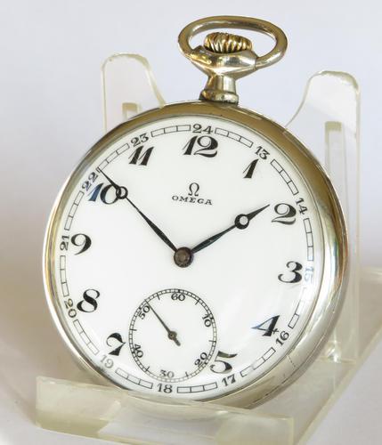 Omega Pocket Watch c.1925 (1 of 5)