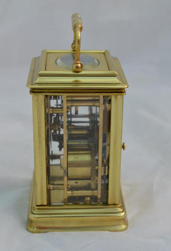 Elkington London Gorge Case Carriage Clock & Box (1 of 5)