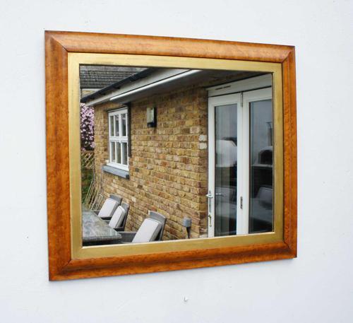 Victorian Birds Eye Maple Overmantle Mirror (1 of 13)
