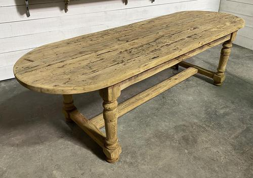 Large Rustic French Farmhouse Dining Table (1 of 18)