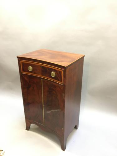 19th Century Concave Side Cabinet (1 of 13)