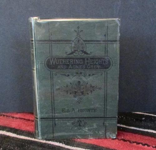 1876 Wuthering Heights  By Emily Bronte & Agnes Grey by Anne Bronte Rare Edition (1 of 5)