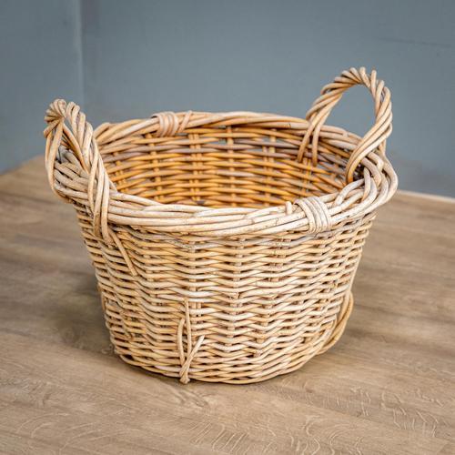 Wicker Log Basket (1 of 6)