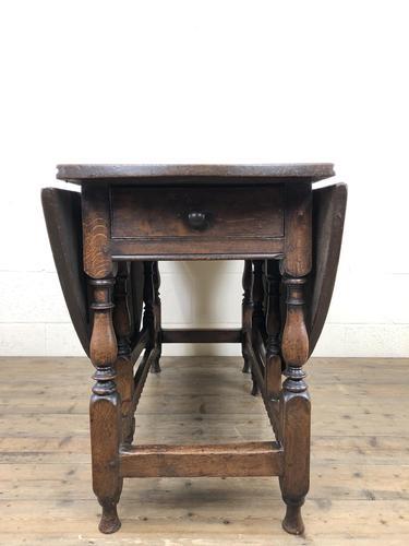 18th Century Oak Gateleg Table (1 of 14)