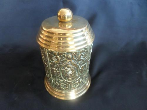 Brass Tea Caddy c1900 (1 of 6)