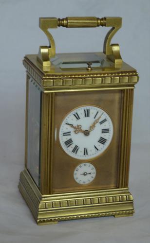 Strike Repeat Alarm Decorative Carriage Clock (1 of 6)