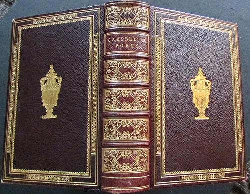 1851 Poetical Works of Thomas Campbell by W A Hill (1 of 4)