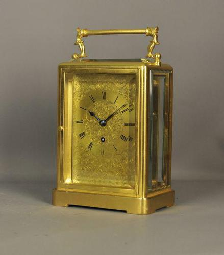 Fine English Fusee Carriage Clock (1 of 12)