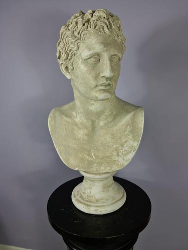 Life Size Plaster Bust of Mark Antony (1 of 7)