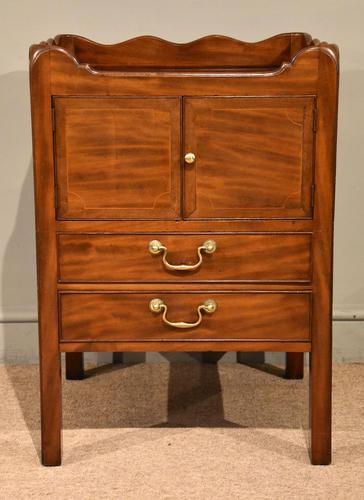 Mahogany Late 18th Century Bedside Cupboard (1 of 8)
