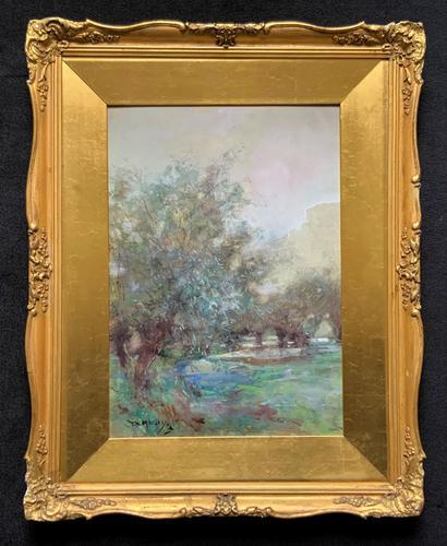 Thomas William Morley Bonhams Prov Kent Country watercolour Painting (1 of 12)