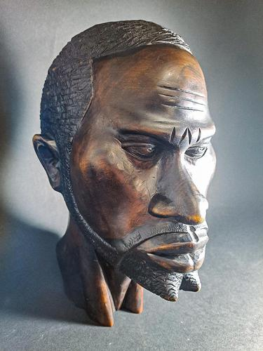 Carved African Head (1 of 7)