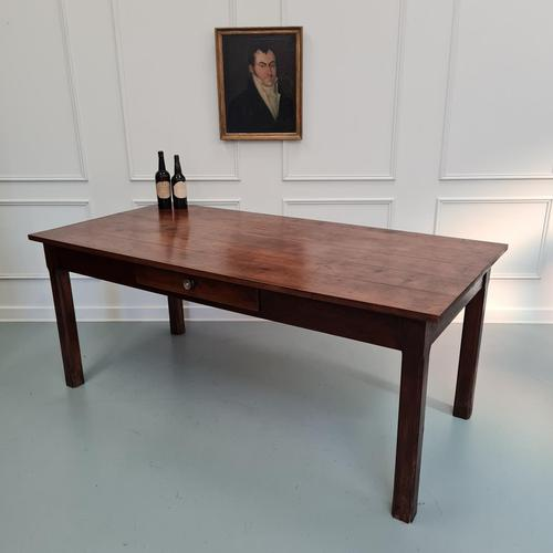 Beautiful Country Farmhouse Cherrywood Table C1850 (1 of 5)