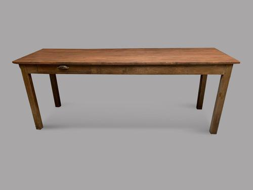 A Late 19thc French Farmhouse Table (1 of 5)