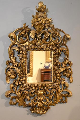 17th Century Tuscan Wall Mirror (1 of 5)