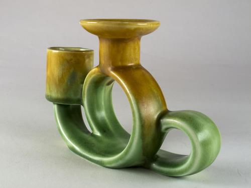 Rare Art Deco Beswick Trentham Art Ware Candle Holder (1 of 4)