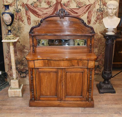 Victorian Chiffonier Sideboard Antique Mahogany c.1860 (1 of 8)
