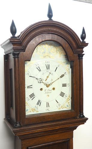 18th Century Longcase Clock Fine English Oak Ashford Grandfather Clock Painted Dial c.1757 (1 of 12)