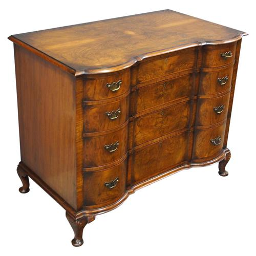 Georgian Style Walnut Chest of Drawers by Maple & Co (1 of 14)