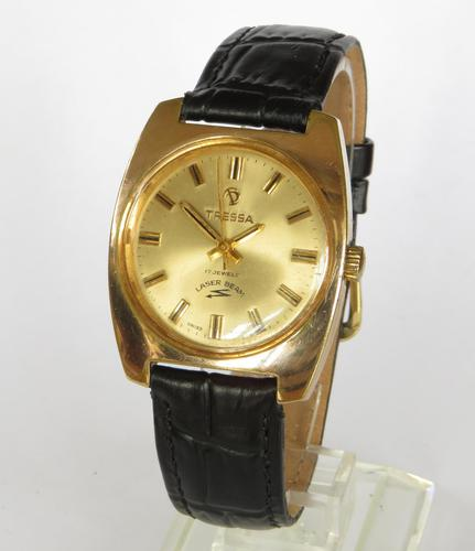 Gents 1970s Tressa Laser Beam Wrist Watch (1 of 5)