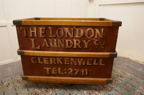 London Laundry Co. Industrial Trolley Cart (1 of 5)