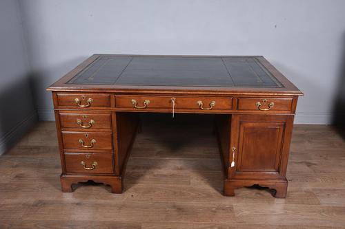 Antique 19th Century Mahogany Partners Desk (1 of 6)