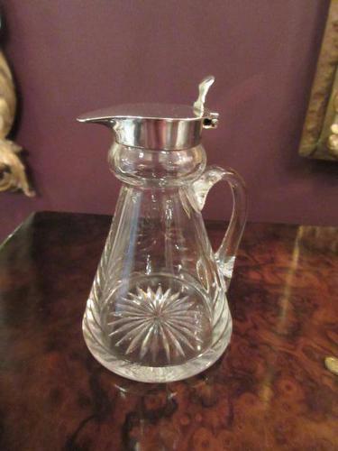 Antique Solid Silver Whisky Noggin (1 of 6)