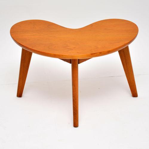 1960's Vintage Walnut  Boomerang Side Table (1 of 8)