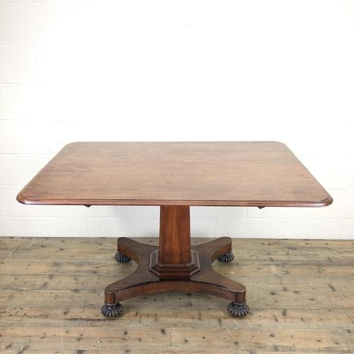 Large Victorian Mahogany Tilt Top Table (1 of 10)