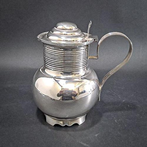 Victorian lidded beer or cider jug (1 of 4)